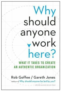 Why Should Anyone Work Here?: What It Takes to Create an Authentic Organization - Goffee, Rob; Jones, Gareth