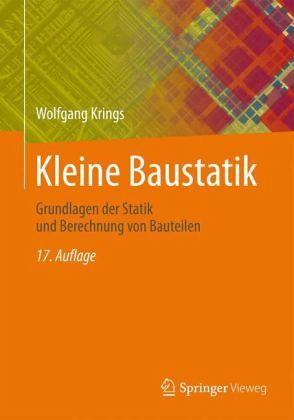Kleine baustatik von wolfgang krings fachbuch for Baustatik grundlagen