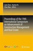 Proceedings of the 19th International Symposium on Advancement of Construction Management and Real Estate