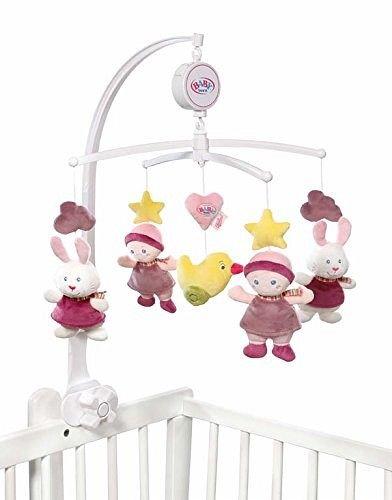 zapf 821206 baby born for babies mobile mit musik. Black Bedroom Furniture Sets. Home Design Ideas