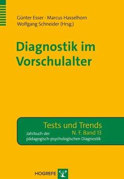 Diagnostik im Vorschulalter (eBook, PDF) - Esser, Günter; Hasselhorn, Marcus; Schneider, Wolfgang