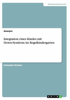 Integration eines Kindes mit Down-Syndrom im Re...