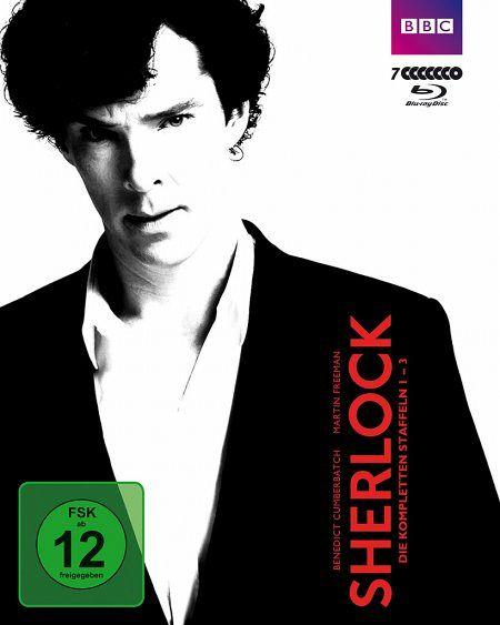 Sherlock - Die kompletten Staffeln 1-3 (7 Discs) - Cumberbatch,Benedict/Freeman,Martin