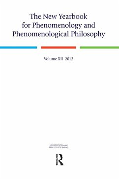 The New Yearbook for Phenomenology and Phenomenological Philosophy (eBook, ePUB)