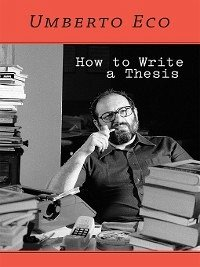 How to Write a Thesis (eBook, PDF)