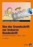 Von der Grundschrift zur lesbaren Handschrift (eBook, PDF)