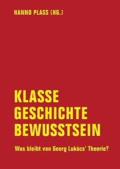 Klasse, Geschichte, Bewusstsein (eBook, ePUB) - Engster, Frank; Eiden-Offe, Patrick; Dannemann, Rüdiger; Claussen, Detlev; Behrens, Roger; Selk, Veith; Müller, Stefan; Rhein, Johannes; Bredtmann, Bastian