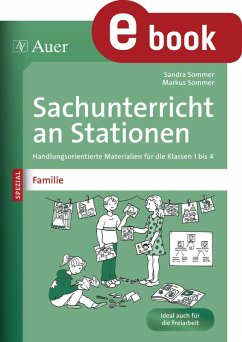 Sachunterricht an Stationen Spezial Familie (eBook, PDF) - Sommer, Sandra; Sommer, Markus