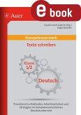 Kompetenzerwerb Texte schreiben 1/2 (eBook, PDF)