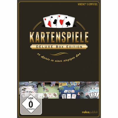 Kartenspiele Deluxe 21 In 1