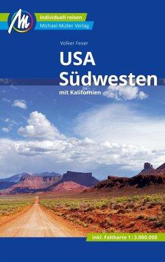 USA - Südwesten Reiseführer Michael Müller Verlag - Feser, Volker