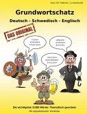 Grundwortschatz Deutsch - Schwedisch - Englisch (eBook, ePUB)