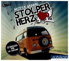 Stolperherz, Audio-CD - Sabbag, Britta