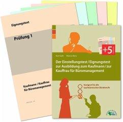 Der Einstellungstest / Eignungstest zur Ausbildung zum Kaufmann / zur Kauffrau für Büromanagement - Guth, Kurt; Mery, Marcus