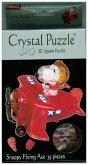 Snoopy im Flugzeug rot (Puzzle)