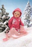 BABY born Schlitten + Schneeanzug
