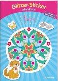 Glitzer-Sticker-Mandalas Tiere. Malbuch ab 5 Jahren