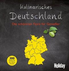 HOLIDAY Reisebuch: Kulinarisches Deutschland