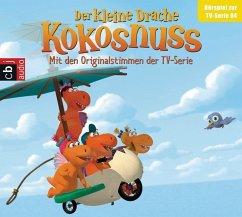 Der Kleine Drache Kokosnuss - Hörspiel zur TV-Serie 04, 1 Audio-CD - Siegner, Ingo