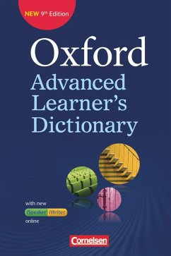 Oxford Advanced Learner's Dictionary B2-C2. Wörterbuch (Festeinband) mit Online-Zugangscode