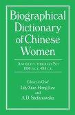 Biographical Dictionary of Chinese Women: Antiquity Through Sui, 1600 B.C.E. - 618 C.E (eBook, PDF)