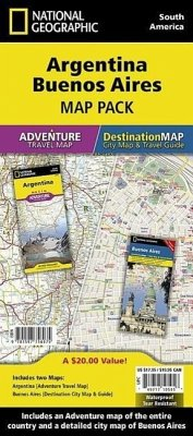 Argentina, Buenos Aires [map Pack Bundle] - National Geographic Maps - Adventure