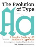 The Evolution of Type: A Graphic Guide to 100 Landmark Typefaces: Examining Letters from Metal Type to Open Type