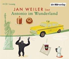 Antonio im Wunderland, 4 Audio-CDs - Weiler, Jan