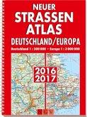 Neuer Straßenatlas Deutschland/Europa 2016/2017