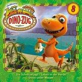 Der Dino-Zug - Schnitzeljagd / Leben in der Herde / Dinos unter Wasser, 1 Audio-CD