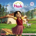 Die Reise zum Großvater u.a. (CGI) / Heidi Bd.1 (1 Audio-CD)