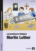 Lernstationen Religion: Martin Luther (eBook, PDF)