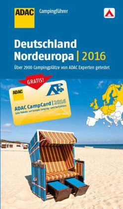 adac campingf hrer deutschland und nordeuropa 2016. Black Bedroom Furniture Sets. Home Design Ideas
