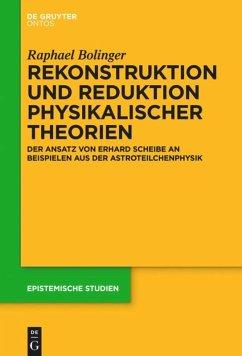 Rekonstruktion und Reduktion physikalischer Theorien - Bolinger, Raphael