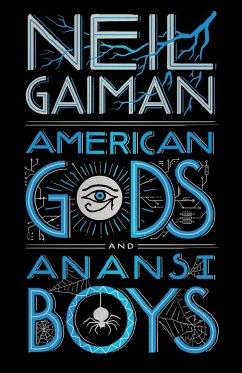 American Gods + Anansi Boys Leatherbound Edition - Gaiman, Neil