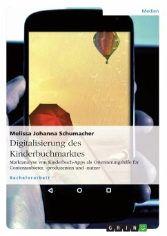 Digitalisierung des Kinderbuchmarktes (eBook, ePUB)