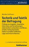 Technik und Taktik der Befragung (eBook, ePUB)