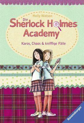 Buch-Reihe Die Sherlock Holmes Academy von Holly Watson