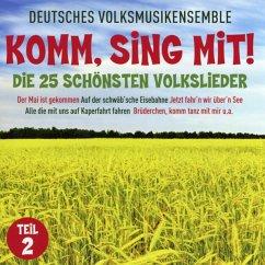 Komm,Sing Mit!-Die 25 Schönsten Volkslieder 2 - Schorsch Hampel