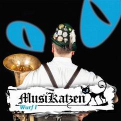 Wurf 1 - Musikatzen