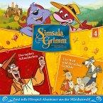 Das tapfere Schneiderlein, Die sieben Geißlein / SimsalaGrimm Bd.4 (1 Audio-CD)