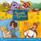 Hänsel und Gretel, König Drosselbart / SimsalaGrimm Bd.5 (1 Audio-CD)