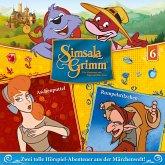 Aschenputtel, Rumpelstilzchen / SimsalaGrimm Bd.6 (1 Audio-CD)
