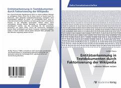 Entitätserkennung in Textdokumenten durch Faktorisierung der Wikipedia
