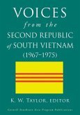 Voices from the Second Republic of South Vietnam (1967¿1975)