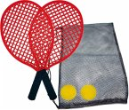 Schildkröt Funsports 970130 - Soft Tennis Set Beach in Tasche, Rot, 40 cm