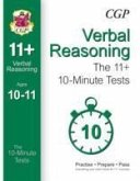 10-Minute Tests for 11+ Verbal Reasoning (Ages 10-11)