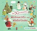 Die 50 schönsten Weihnachts- u. Winterlieder, 3 Audio-CDs