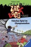 Falsches Spiel im Olympiastadion / Zac & Co Bd.2 (Mängelexemplar)