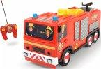 Simba 203099612 - RC Feuerwehrmann Sam Jupiter, 22 cm